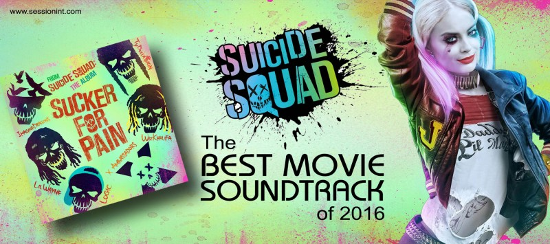 Best Movie Soundtrack of 2016 - Suicide Squad